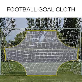 Football Net Goal Practical Yellow White 5 Person System Ball Sports Goalkeeper-4