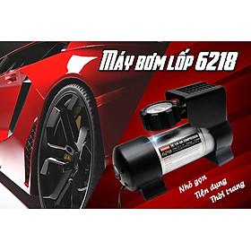 Máy Bơm Lốp , Bơm Mini Ô Tô Coido 6218 Cao Cấp