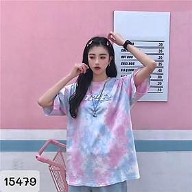 15479 - S,M,L,XL,2x - Áo BIG SIZE Tshirt Loang Chữ