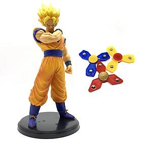 Mô hình Songoku cao cấp Dragon Ball - Tặng bộ 3 con quay Spinner