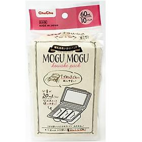 Hộp Chia Thức Ăn Mogu Mogu Nhật Bản Cho Bé ChuchuBaby 60ml* 10hộp / 120ml*8hộp