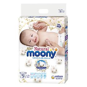 Tã Dán Moony Natural Bông Organic S58 (58 Miếng)