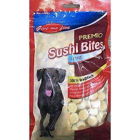 Bánh canxi Sushi Bites cho chó 100gr