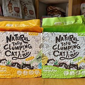 Cát vệ sinh đậu nành cho mèo - Cature 6L - Siêu khử mùi và tiết kiệm