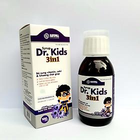 Thực Phẩm Bảo Vệ Sức Khỏe Syrup Dr.Kids 3in1 Giúp Trẻ Tăng Cường Tiêu Hóa, Ăn Ngon Miệng, Tăng Sức Đề Kháng