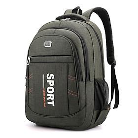 Ba lô laptop da dụng TOPEE dùng đi học, đi làm, đi chơi, đi du lịch (đựng laptop, máy ảnh, ipad, A4,..) BXL19 (màu xanh lá)