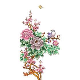 Tranh Treo Hoa Mẫu Đơn - MD011