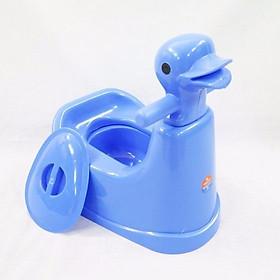 Bô vệ sinh cho bé hình vịt VN5453 ( Giao màu ngẫu nhiên)