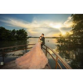 Chụp ảnh cưới tại Hồng Linh Studio-Voucher gói chụp ảnh cưới tại Hà Nội (GOLDEN)