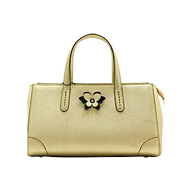 Túi xách tay nữ Blanda da bò cao cấp 9TXDB102 - Vàng