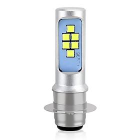 Đèn Pha LED Siêu Sáng Cho Xe Máy (6000K) (P15D)