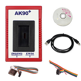 Auto Key Programmer Tool Professional AK90+ V3.19 Match Diagnostic Tool For BMW EWS AK90 With Cable Key Programming Kit - Multicolor