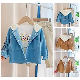 BS62Size80-120 (6-21kg)Đồ bộ cho bé, áo thun + quần jeanThời trang trẻ Em hàng quảng châu
