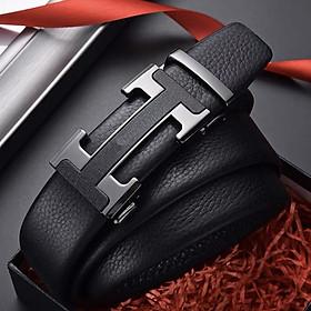 Thắt lưng nam khóa tự động dây da mềm cao cấp - Thiết kế nam tính TOPEE TLT002