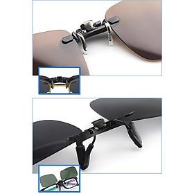 Unisex Polarized Clip Sunglasses Driving Lens Cycling Riding Sunglasses Clip