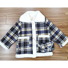 [SIÊU PHẨM MÙA ĐÔNG ] Áo dạ lót lông thỏ cho bé trai và bé gái từ 5 đến 13 tuổi hàng Quảng Châu Loại 1