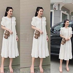 Biểu đồ lịch sử biến động giá bán Váy bầu thời trang thiết kế bèo vai B10 chất đũi hàn freesize từ 45 đến 70kg