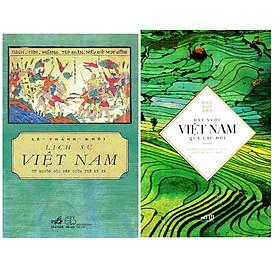 Combo Lịch Sử Việt Nam Từ Nguồn Gốc Đến Giữa Thế Kỉ XX + Đất Nước Việt Nam Qua Các Đời
