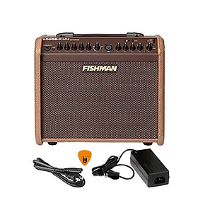 [Pin Sạc, Bluetooth] Fishman Loudbox Mini Charge 60W Battery Powered Guitar Amplifier - Ampli cho Đàn Guitar & Nhạc cụ mộc Acoustic - Kèm Móng Gẩy DreamMaker