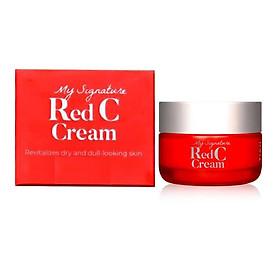 Kem Dưỡng Vitamin C Làm Trắng Da, Mờ Thâm Nám Tiam My Signature Red C Cream 50ml