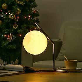 Đèn Ngủ Hình Mặt Trăng 3D Trắng