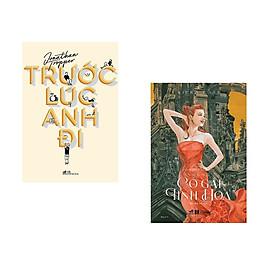 Combo 2 cuốn sách: Trước lúc anh đi + Tuyển chọn Hoàng Phi :Những cô gái tinh hoa