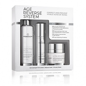 Bộ sản phẩm giúp điều chỉnh và ngăn ngừa các dấu hiệu lão hóa AGE REVERSE SYSTEM COSMEDICAL