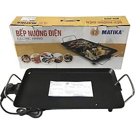 Bếp Nướng Điện 1500W Cao Cấp Matika MTK-4928 Chống Dính Nướng Nhanh Giữ Nguyên hương Vị Thực Phẩm-Hàng Chính Hãng