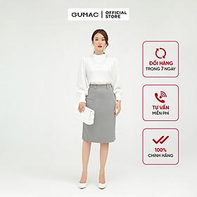 Áo kiểu tay dài phụ kiện AB556 GUMAC