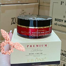 Premium Whitening Body Cream KB ONE 100g - Kem Trắng Da Toàn Thân Sữa Tuyết  - Tặng Cột Tóc Ngẫu Nhiên
