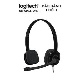 Tai Nghe Chụp Tai Logitech H151 - Hàng Chính Hãng