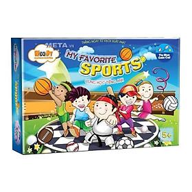 Đồ Chơi Giấy - My Favorite Sport