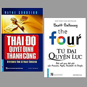 Combo 2 cuốn sách kĩ năng sống : Tứ Đại Quyền Lực + Thái Độ Quyết Định Thành Công