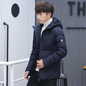 Áo khoác phao nam có mũ đẹp 3 lớp vải dù cao cấp chống nước không bám bẩn giữ nhiệt mùa đông màu được nhập khẩu bởi công ty thời trang T-X