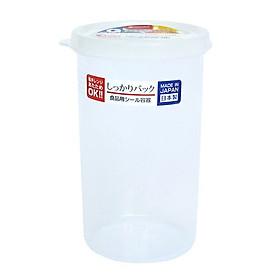 Hộp Nhựa Tròn Đựng Thực Phẩm  540ml - Nội Địa Nhật