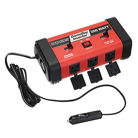 200W Car Auto Power Inverter DC 12V to AC 1100V Adapter Converter USB Charger