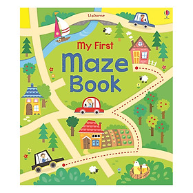 Usborne My First Maze Book