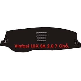 Thảm da Taplo vân Carbon Cao cấp dành cho xe Vinfast Lux SA2.0 có khắc chữ Vinfast Lux SA2.0 và cắt bằng máy lazer