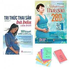 Combo Sách Dành Cho Mẹ Bầu: Tri Thức Thai Sản Bà Bầu Cần Biết và Hành Trình Thai Giáo 280 Ngày (Bản Đặc Biệt Tặng Kèm GreenLIfe Postcard AHA)