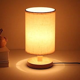 Đèn ngủ - đèn ngủ để bàn - đèn trang trí phòng ngủ cao cấp NOVARA kèm bóng LED