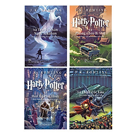 Combo Harry Potter 4 Tập (Tập 1 - Tập 4)