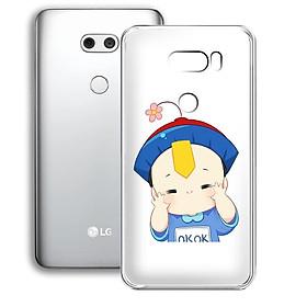 Ốp lưng điện thoại LG V30 - 01253 7875 LITTLEBOY01 - Silicon dẻo - Hàng Chính Hãng