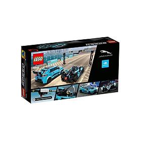 Mô hình đồ chơi lắp ráp LEGO SPEED CHAMPION Xe Formula E Panasonic Jaguar Racing GEN2 & I-PACE eTROPHY 76898 ( 565 Chi tiết )