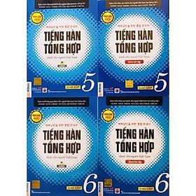 Combo Tiếng Hàn Tổng Hợp Dành Cho Người Việt Nam cao cấp 5 - 6 bản 1 màu(SGK + SBT)