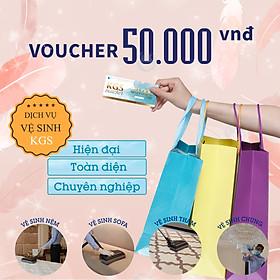 [E-Voucher] Phiếu quà tặng Voucher Dịch vụ Vệ sinh 50.000 VNĐ áp dụng Toàn bộ Dịch vụ Vệ Sinh Không Gian Sạch - Tổng đài miễn phí 18006248 để đặt hẹn
