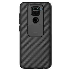 Ốp lưng cho Xiaomi Redmi Note 9 - Redmi 10X 4G Nillkin CamShield che camera - Hàng Nhập Khẩu