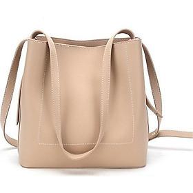 Túi đeo chéo nữ thời trang T17 da trần size 28x24x6cm dây đeo chéo da phụ kiện thời trang