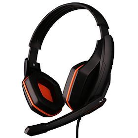 Headset Kèm Mic OVANN X1 Gaming Black/ Orange