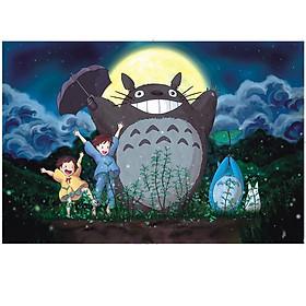 Tranh ghép hình 1000 mảnh gỗ - Totoro đêm GHTTRD00028