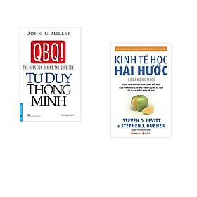 Combo 2 cuốn sách: Tư Duy Thông Minh + Kinh tế học hài hước